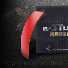 Amizade 729 batalha ii (batalha 2, nova versão) esponja de ping-pong de borracha província, esponja para batalha 2 com 2.1mm 729