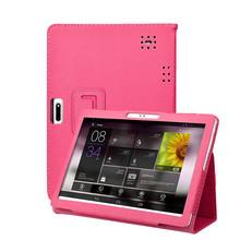 Uniwersalny składany skórzane etui pokrowiec na 10 #8221 10 1 Cal Tablet z androidem PC PU etui z klapką inteligentne etui tanie tanio centechia Osłona skóra 10 1 CN (pochodzenie) Odporny na wstrząsy