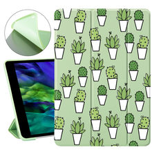 Cactus Cute for 10.2 ipad 8th 2020 7th Generation Case Pro 12.9 Case 2020 Mini 5 Cover Soft Silicone For ipad Air 4 Mini