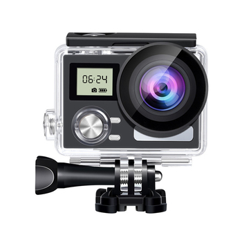 Sports Camera 4K WiFi Ultra-thin Waterproof Camera with 2 Inch LCD Screen LHB99