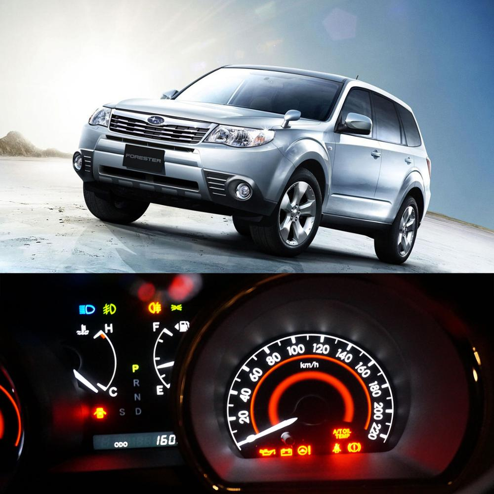 50x Bright Instrument Panel Gauge Cluster Speedometer Dash Light Bulb Led Full Conversion Kit for 1992-1997 Subaru Impreza