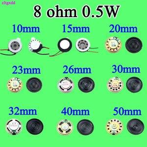 Cltgxdd mini alto-falante ultra-fino novo 8 ohms 0.5 watt 0.5 w 32r alto-falante diâmetro 28mm 2.8 cm espessura 5mm