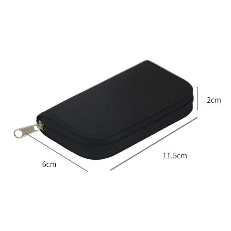 Memory Card Storage Bag Carrying Case Holder Wallet 22 Slots for CF/SD/Micro SD/SDHC/MS/DS Game Accessories memory card box 3