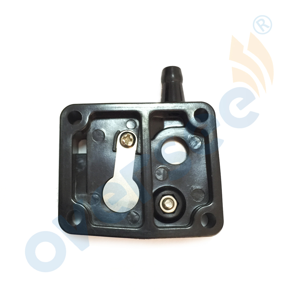 6G1-24412-01 FUEL PUMP BODY For Yamaha Parsun 3HP 6HP 8HP 9.9HP 15HP Outboard Engine PartsBoat Motor Aftermarket Parts 6G1-24412