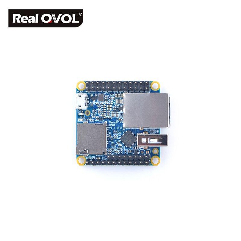Image 3 - RealQvol FriendlyARM NanoPi NEO2 v1.1 LTS Development Board faster than Raspberry PI 40X40mm (512MB/1GB DDR3 RAM) ARM Cortex A53-in Demo Board from Computer & Office