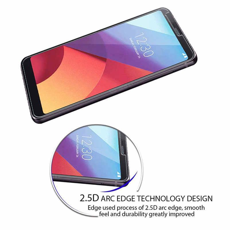 9H ochronne szkło hartowane na ekran w telefonie LG G7 ThinQ Q6 G4 G5 K10 V10 G6 V30 Plus 2016 2017 V20 folia ochronna skrzynki pokrywa torba na telefon