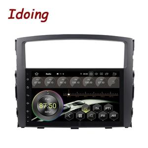 "Image 2 - Idoing 9"" 2 din Car PX5 4G+64G Octa Core Android 9.0 Radio Multimedia Video Player For Mitsubishi Pajero 4 V80 V90 V97 2din"