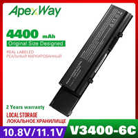6 Celle Batteria per Dell Vostro 3400 3400n 3500 3500n 3700 3700n P06E P09F P09S P10G P10G001 Txwrr TY3P4 Y5XF9 7FJ92 CWX2D