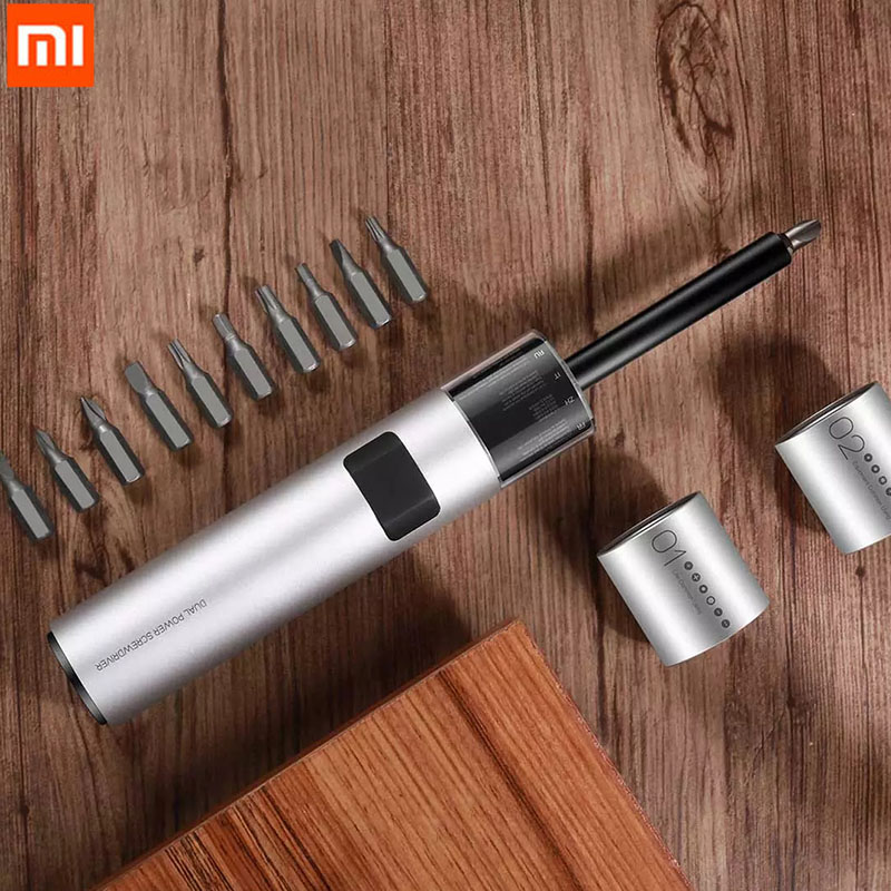 Xiaomi WOWSTICK SD 36 in 1 Dual Power Lithium Electric Screwdriver LED Lights Rechargeable Magnetic Suction Screw Driver For DIY|Smart Remote Control| - AliExpress