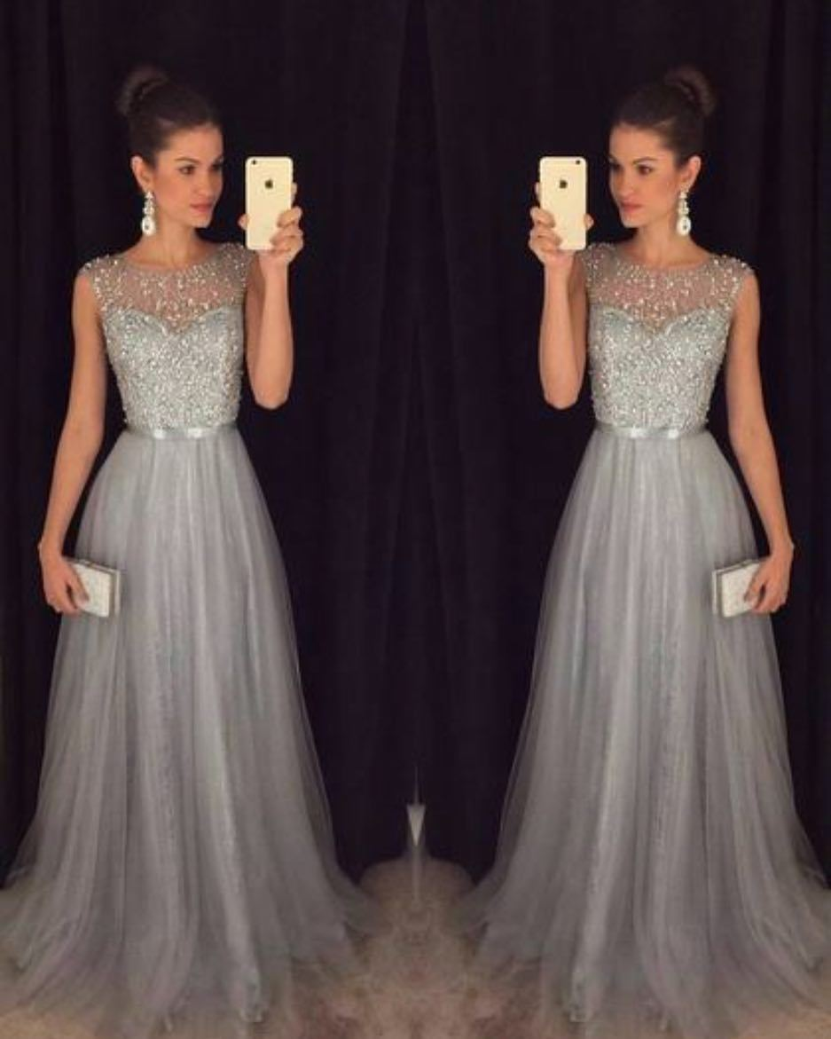 Linglewei New Spring and Summer Women's Dress Chiffon sleeveless Sequin dress