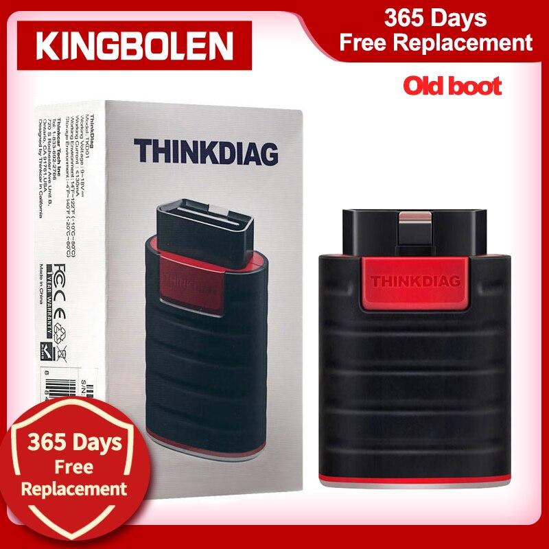 Thinkcar Thinkdiag старый ботинок V1.23.004 запуск 1 год бесплатного обновления OBD2 считыватель кодов Bluetooth сканер инструмент Новая версия