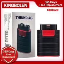 Thinkcar Thinkdiag قديم التمهيد V1.23.004 إطلاق 1 سنة تحديث مجاني OBD2 رمز قارئ بلوتوث ماسحة أداة جديد النسخة