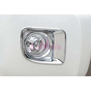 Chrome Car-Styling Front Fog Lamp Cover Light Panel Trim Year 2012 2013 2014 2015 For Toyota LC Land Cruiser 200 Accessories