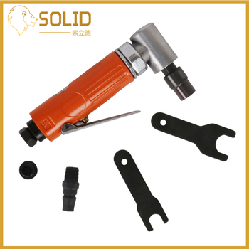 """Pneumatic Tool 1/4"""" Air Angle Die Grinder Pneumatic Grinding Machine Cut Off Polisher Mill Engraving Tools 25000RPM"""