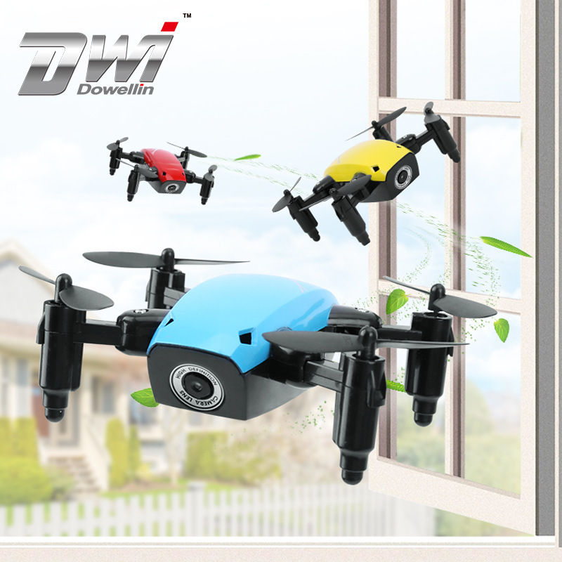 DWI S9 Toy Folding Unmanned Aerial Vehicle Aerial Photography Mini Children Remote Control Aircraft Small Quadcopter