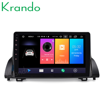 """Krando Android 9.0 10.1"""" IPS Full touch car Multimedia player for Honda accord 10 2018+ navigation system radio gps No 2din DVD"""