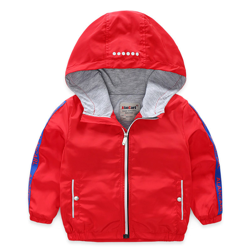Charge Coat New Style Cotton Inner CHILDREN'S Clothes 2019 Spring Double Layer Zip-up Shirt Coat Men's Convention Hooded-Shaped