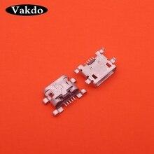 100 шт. Мини Micro usb разъем USB Мощность Зарядное устройство зарядки разъем Мощность штекер Порты и разъёмы Замена запчастей для LENOVO A910