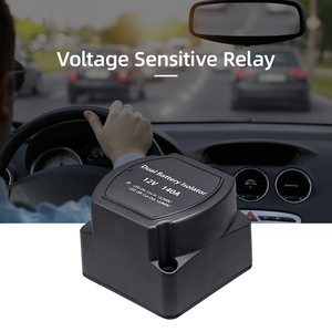 12V 140A Voltage Sensitive Relay Battery Isolator Automatic Charging Relay Car Accessories Car Battery Relay(China)