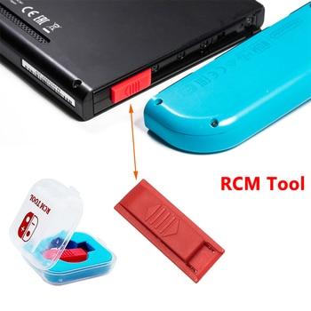Do przełącznika Nintendo GBA FBA zamiennik RCM narzędzie zwarcie zmodyfikuj plik Jig plastikowy przyrząd
