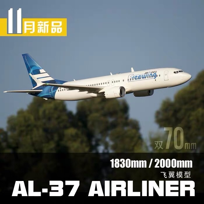 Бесплатная доставка AL37 RC Самолет Авиакомпания PNP новое поступление