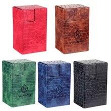 Boîte à cartes à Double jeu, boîte de rangement de cartes de dés, Collection de conteneur pour CCG MTG TCG Magic Board Game Trading Cards Sleeve