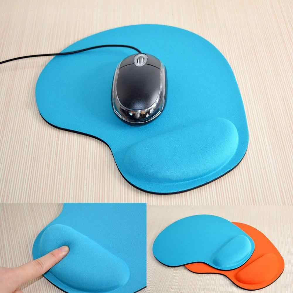 Small Feet Environmental Protection Eva Wrist Mouse Pad Computer Game Creative Solid Color New Custom Logo Eva