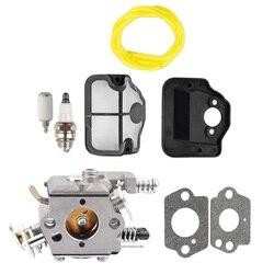 Запчасти для бензопилы, карбюратор, воздушный фильтр, электроинструмент, Ремонтный комплект для Husqvarna 36 41 136137 141 141 142 WT-834 WT-834A