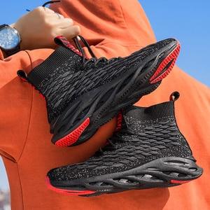 Image 3 - Męskie buty na co dzień oddychające jesień trampki mężczyźni Krasovki Tenis Masculino wysokiej góry Zapatillas lekkie sportowe buty dropshipping 2019