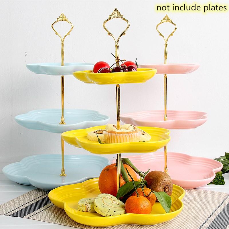 Металлический держатель для торта, подставка для торта, 2 уровня, фурнитура, 3 уровня, корона, металлическая пластина для торта, подставка для торта, вечерние, золотые, для дома, кухни, Аксессуары для выпечки