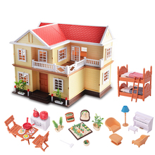 1:12 Simulation Miniature Furniture Toys Dolls Kids Baby Room Play Toy Forest Animal Family Furniture Set For Dolls Education