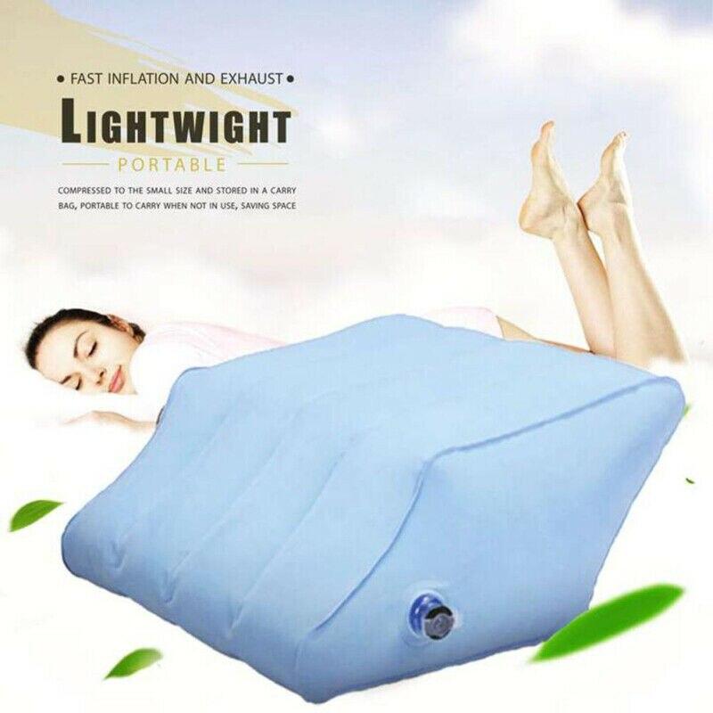 Leg Support Pillow Memory Foam Leg Foot Rest Raiser Pressure Relief Cushion Home