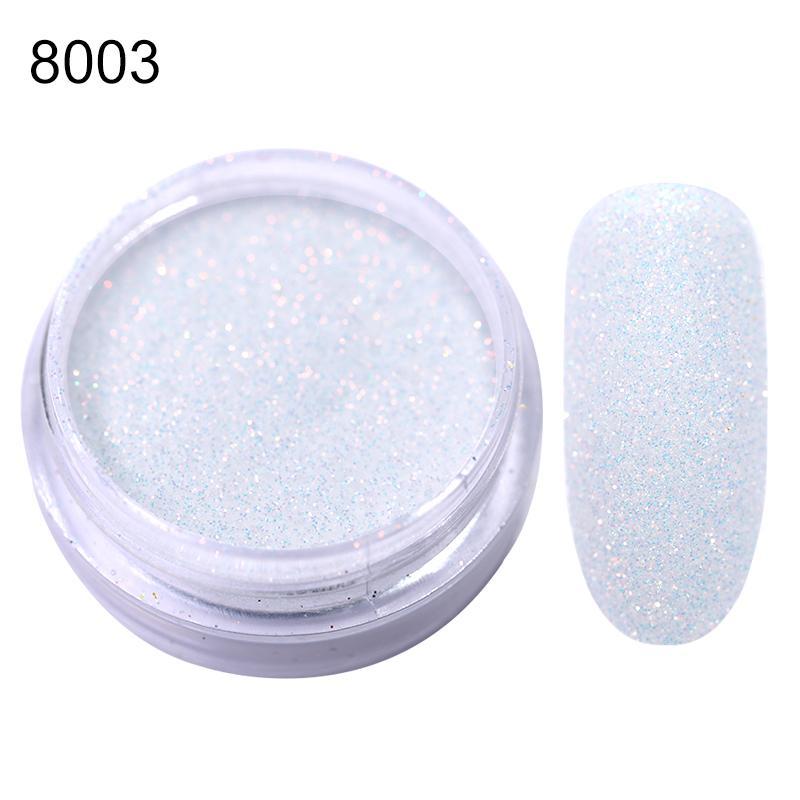 Rose Gold Bubble Mirror Powder Metallic Nail Glitter Holographics Chrome Dust Sparkling Flakes Pigment Manicur Nail Art Decor 48