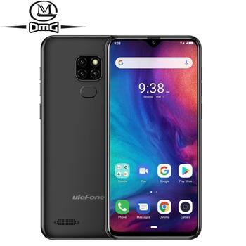 Перейти на Алиэкспресс и купить Ulefone Note 7P 4G смартфон на Android 9,0 отпечаток лица ID 6,1 дюйма MT6761 четырехъядерный телефон 3500 мАч Разблокировка 3 ГБ + 32 Гб мобильный телефон