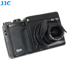 JJC Camera Automatic Open Close Protector Self Retaining Auto Lens Cap for RICOH GXR with RICOH GX 100/GX 200