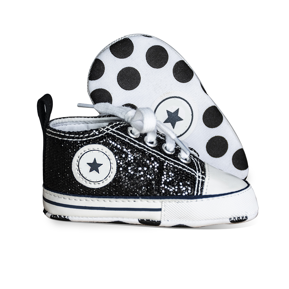 2019 New Color Newborn Baby Shoes Boy Girl Soft Anti-Slip Bling Flash First Walkers Canvas Crib Infant Toddler Shoes