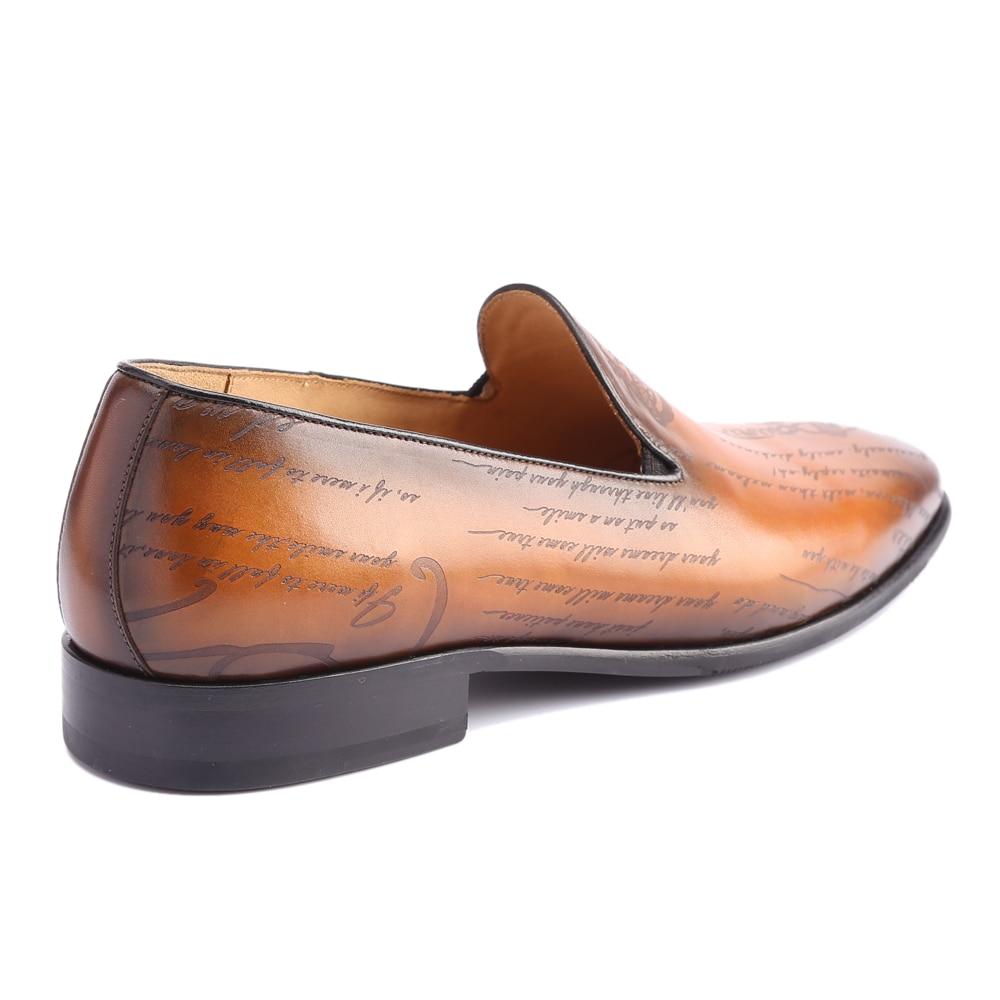 Мокасины, мужские туфли из натуральной кожи класса люкс ручной работы, изготавливаемая на заказ, для офиса, официальный, Свадебная вечеринка, оригинальный дизайн, Винтаж повседневная обувь в ретро стиле - 3