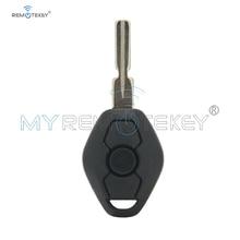 Remtekey Replacement Remote Control Key 3 Buttons EWS System For BMW 3 5 7 Series E38 E39 E46 key 434MHZ PCF7935 ID44 Chip HU58 jingyuqin hu58 4 buttons remote key case for bmw e38 e39 e46 ews system ask 433mhz 315mhz with pcf7935aa id44 chip uncut blade