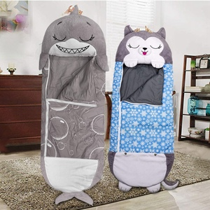 Children Sleeping Bag Warm Cartoon Pillow Toy Sleeping Bag Super Soft Baby Blanket Sleeping Bag