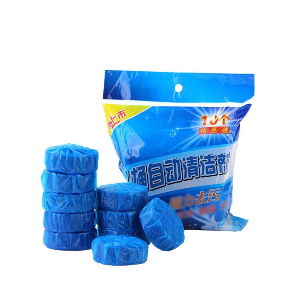 Blue Bubble Toilet Bao Automatic Flushing Toilet Spirit Toilet Cleaner Toilet Deodorant Block
