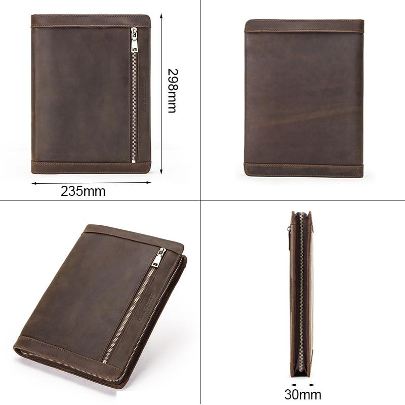 Funda de cuero Vintage para iPad Pro 10,5 Air 3 11 2019 Protector de tableta para iPad 9,7 Air 2 Soporte de diario con cremallera - 2