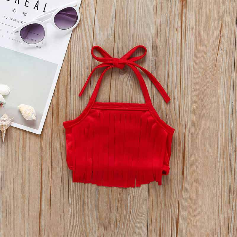 Summer Infants Child Girls Watermelon Red Camisole Bow Swimsuit AliExpress
