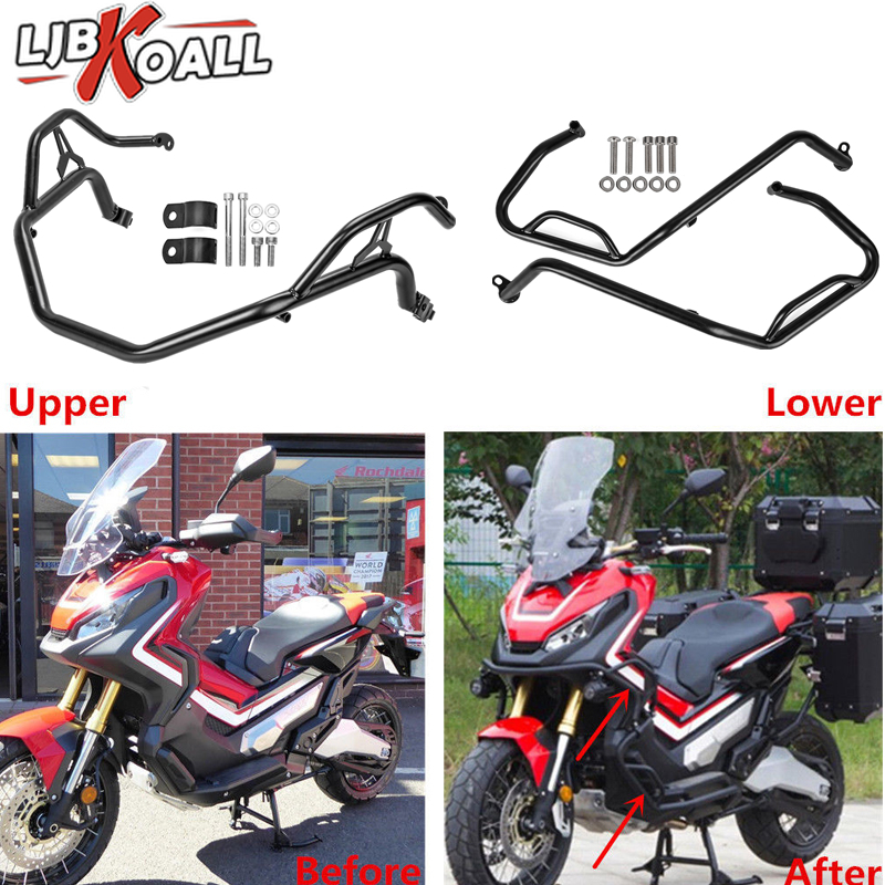 COPART Motorcycle Engine Guard Crash Bars Bumper Protector for BMW F750GS F850GS 2018 2019