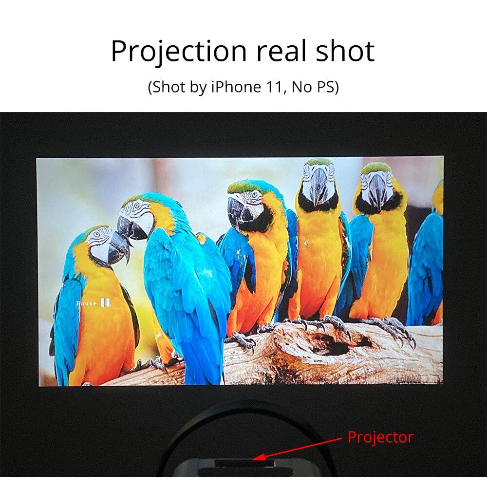 Everycom r10 led vídeo mini projetor hd 720p portátil beamer suporte completo hd 1080p uso do cinema de cinema em casa como alto-falante bluetooth,Este é um código de desconto 99 menos 15:DISC15-1