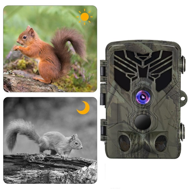 Suntek Hunting Trail Camera Surveillance HC810A Wildlife Cameras Infrared Night Vision 16MP 1080P Wild Cameras  Photo Traps
