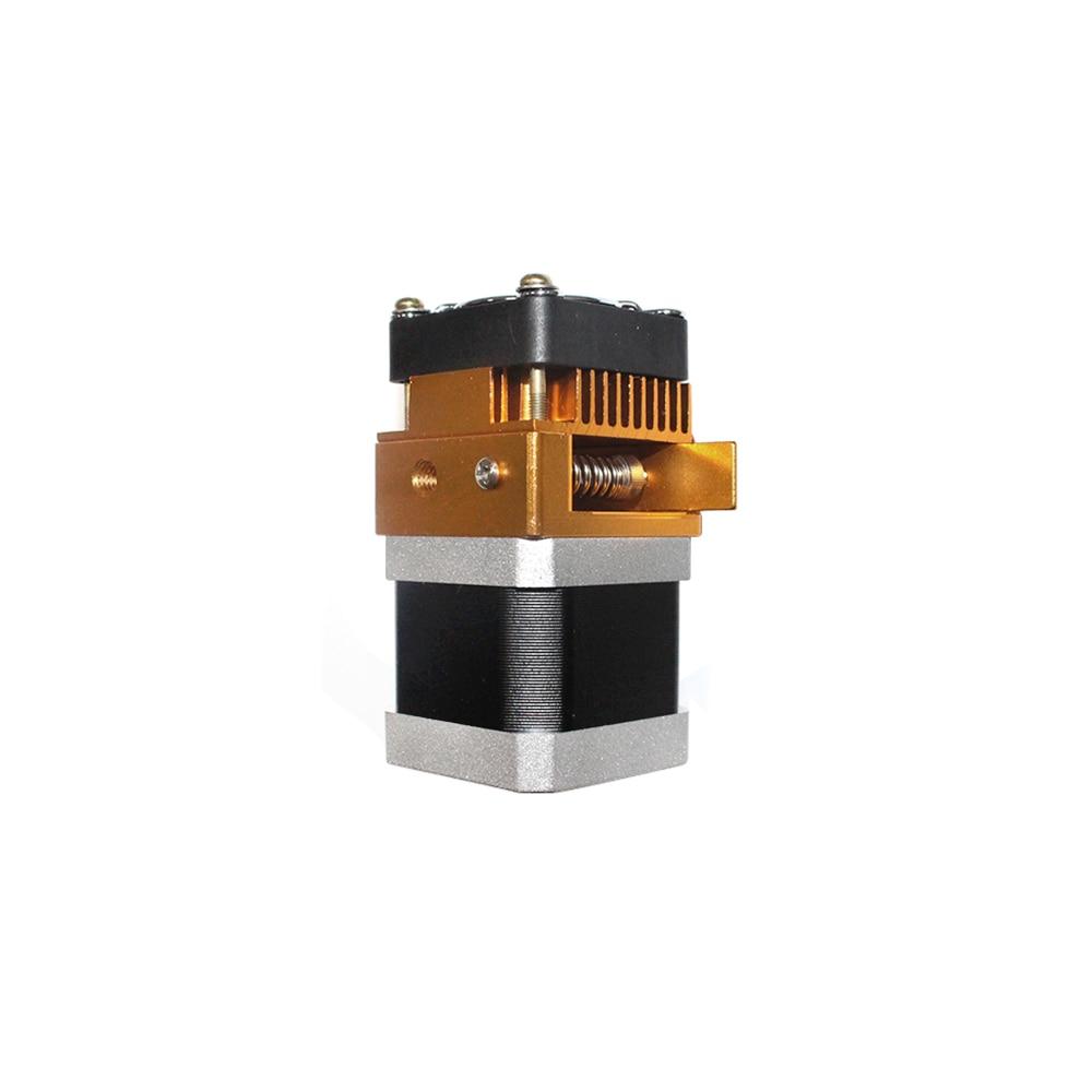 Image 4 - MK8 Extruder Head J head Hotend 0.4mm Nozzle Kit 1.75mm Filament Extrusion Nema17 stepper motor Throat Aluminum PartStepper Motor   -