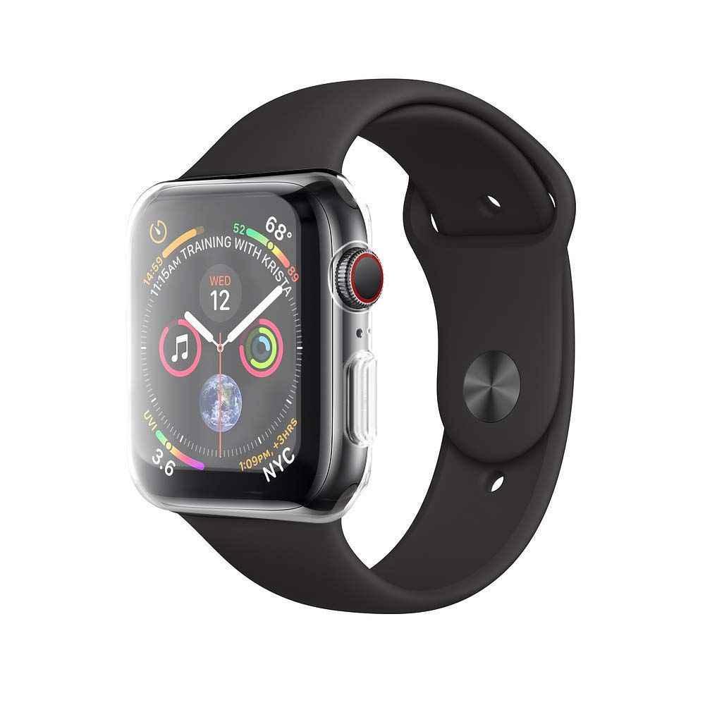BESTCase para Apple Watch Series 4 Protector de pantalla 44mm, nuevo iWatch funda protectora general TPU HD cubierta Ultra-delgada transparente para Ap