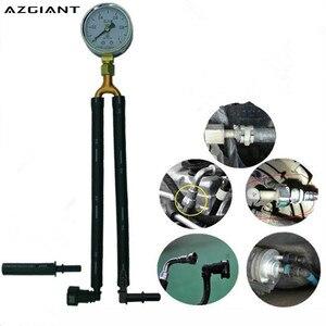 Image 1 - AZGIANT samochód benzyna manometr miernik ciśnienia oleju benzyna narzędzie ciśnienia szybki miernik ciśnienia oleju