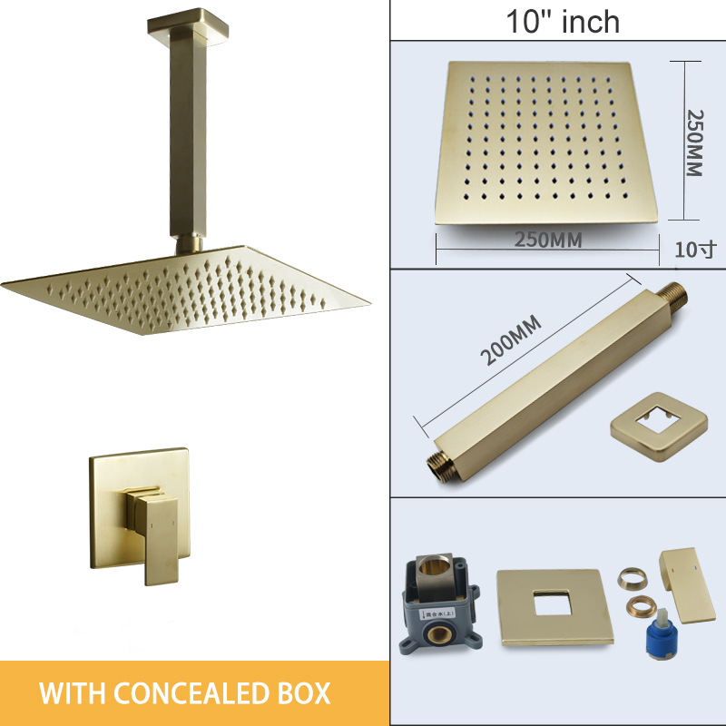 conceal box 10 inch