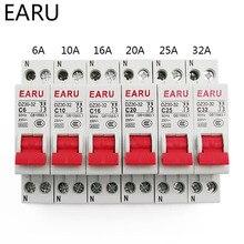 Circuit-Breaker Rail-Mounting-Cutout Air-Switch Miniature MCB DPN Din 32A 16A 25A 10A